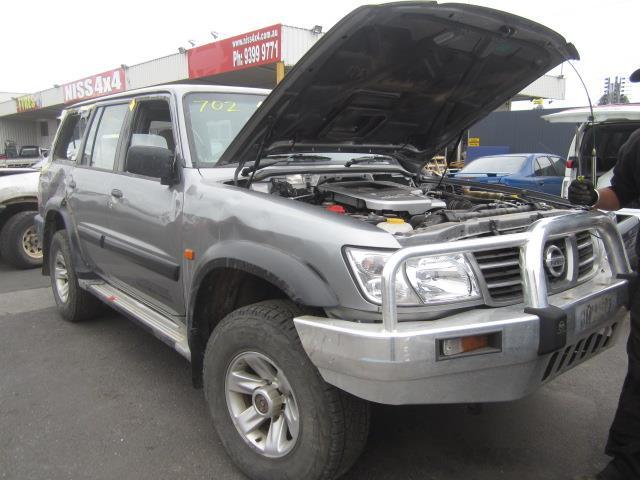 Wrecking Nissan Patrol Y61 2002 Zd30 Wag