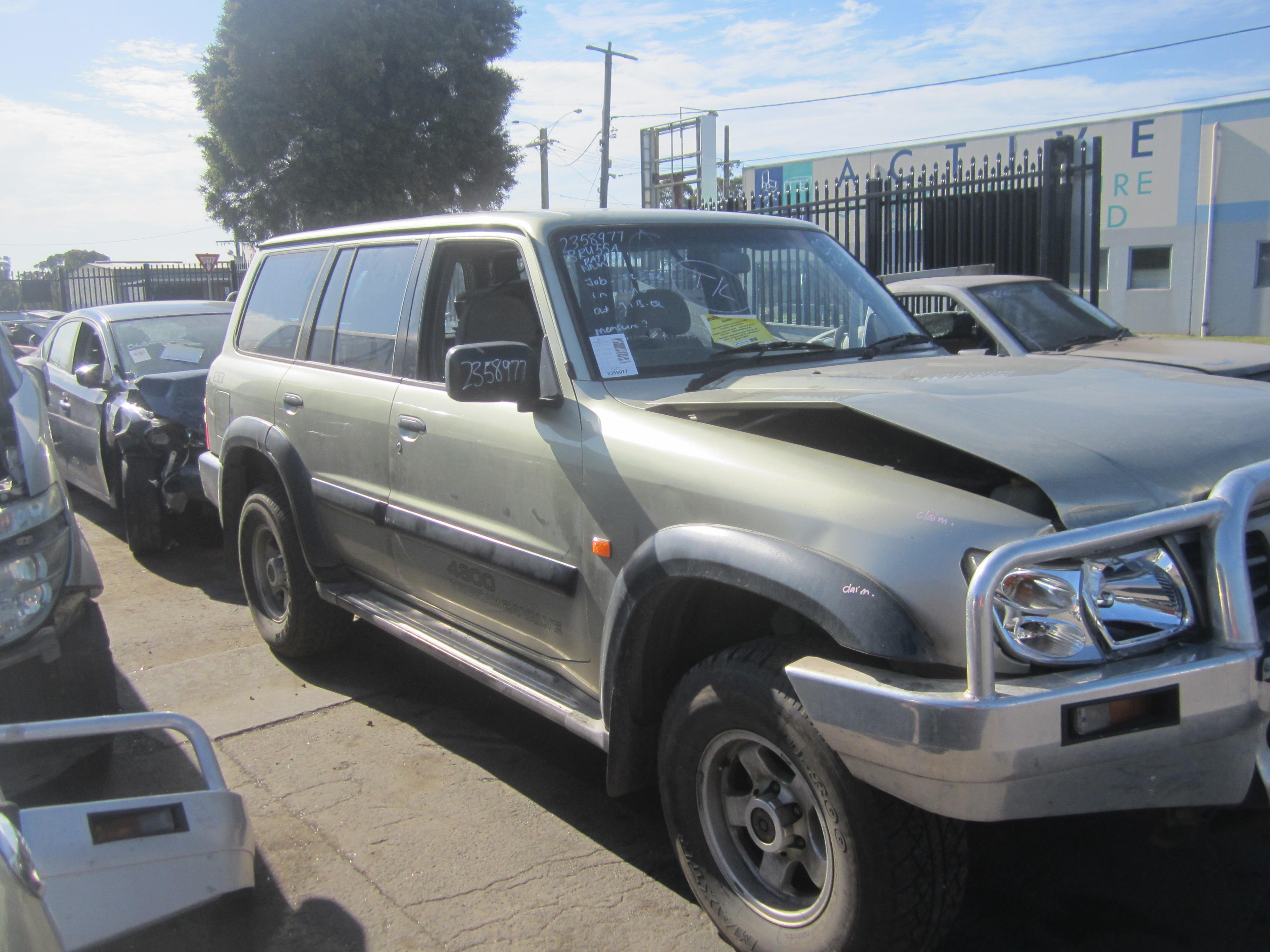 nissan patrol y61 gu tb48 petrol auto 2003 wrecking. Black Bedroom Furniture Sets. Home Design Ideas