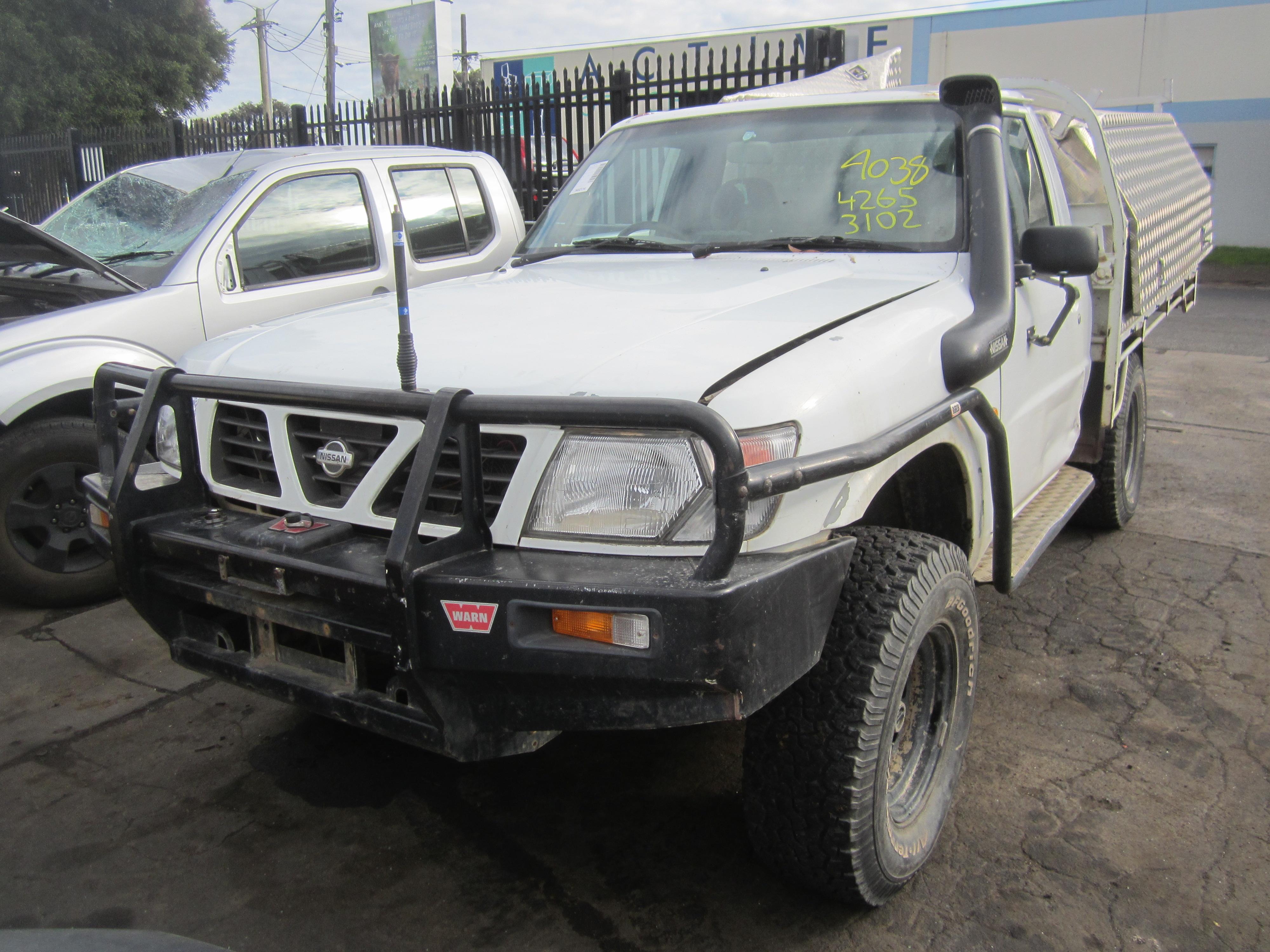 nissan patrol y61 ute td42 turbo diesel 2000 wrecking. Black Bedroom Furniture Sets. Home Design Ideas