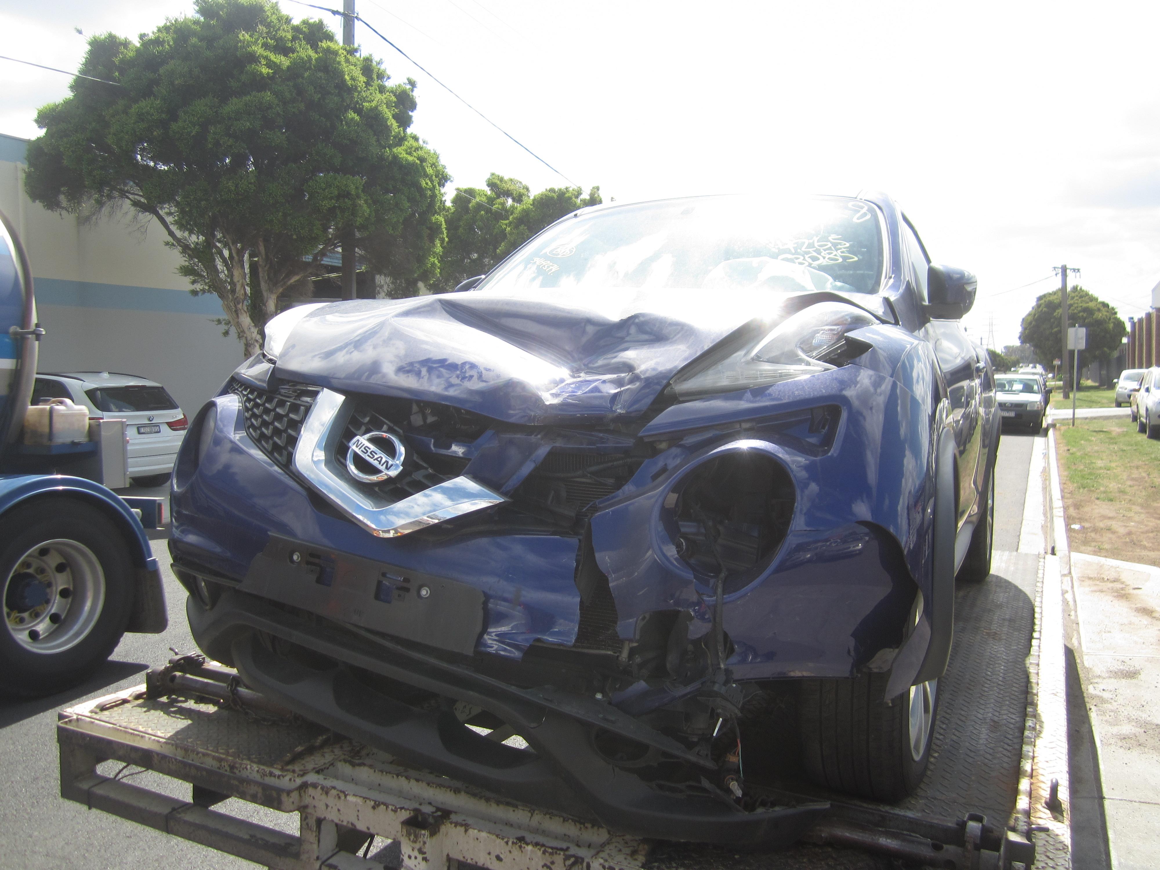 Nissan Juke F15 Petrol 2013 Wrecking