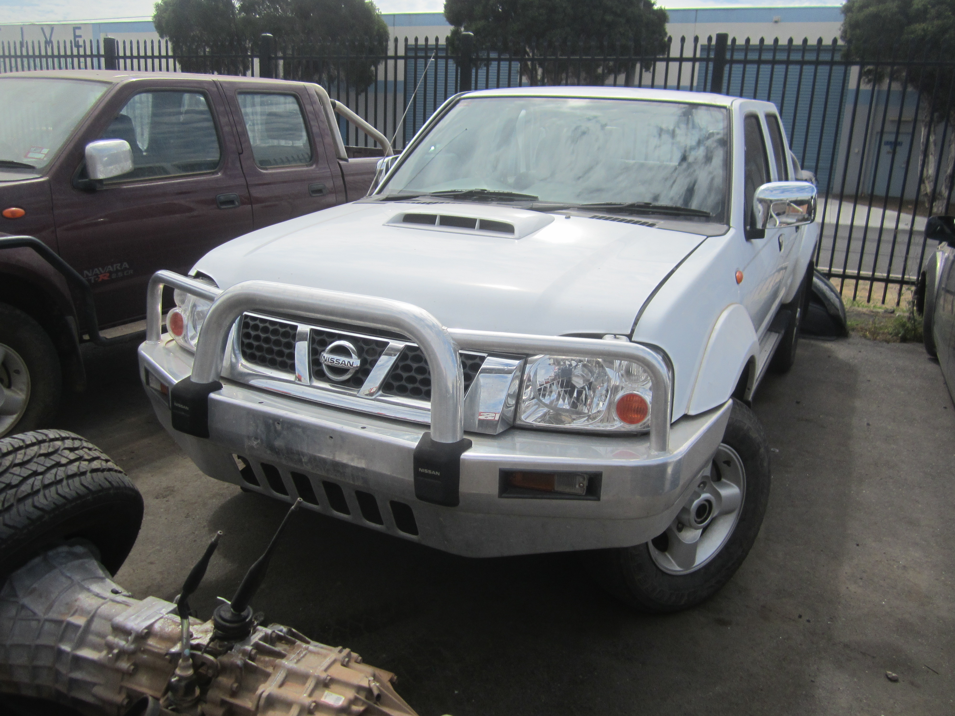 nissan navara d22 yd25 turbo diesel 2010 wrecking. Black Bedroom Furniture Sets. Home Design Ideas