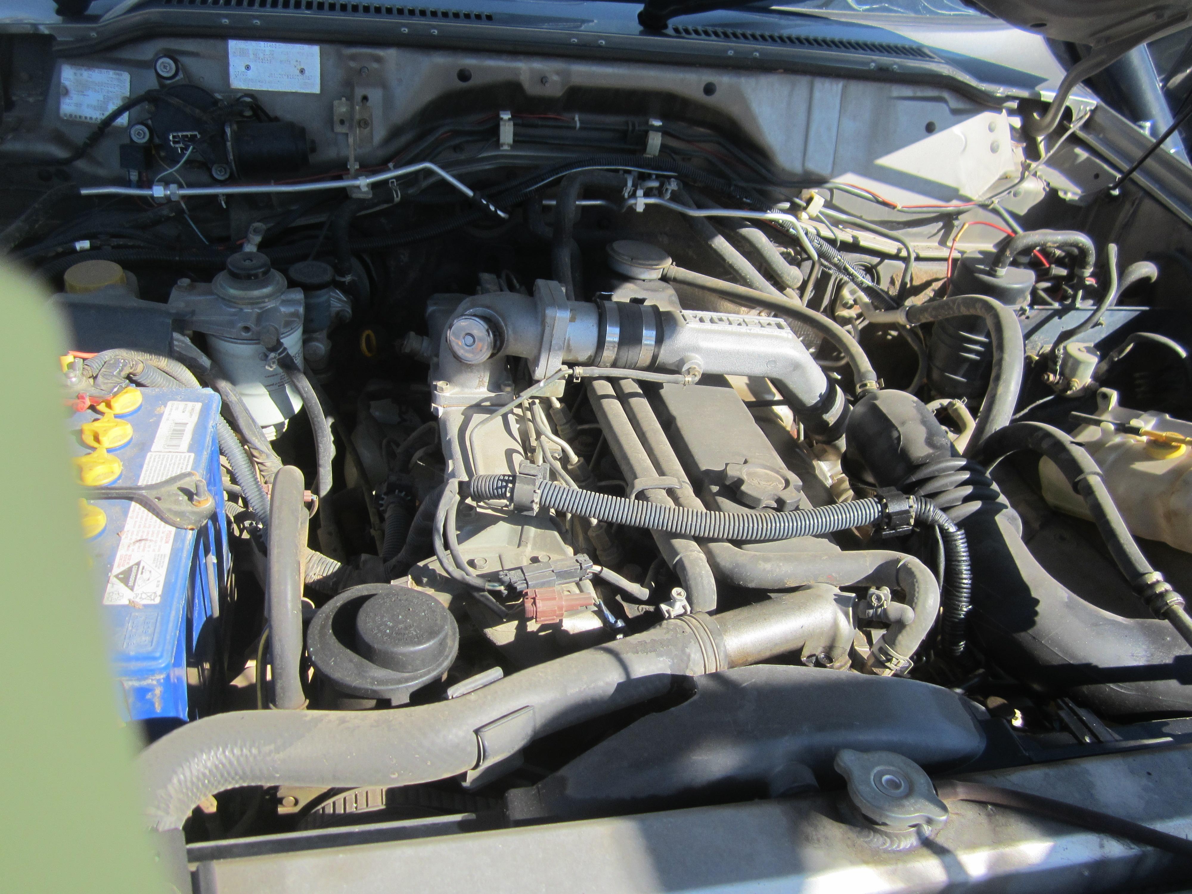 nissan patrol y61 ute td42 turbo diesel 2002 wrecking. Black Bedroom Furniture Sets. Home Design Ideas