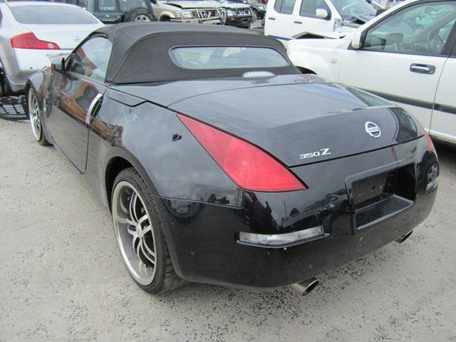 nissan 350z z33 2006 coupe wrecking all parts. Black Bedroom Furniture Sets. Home Design Ideas
