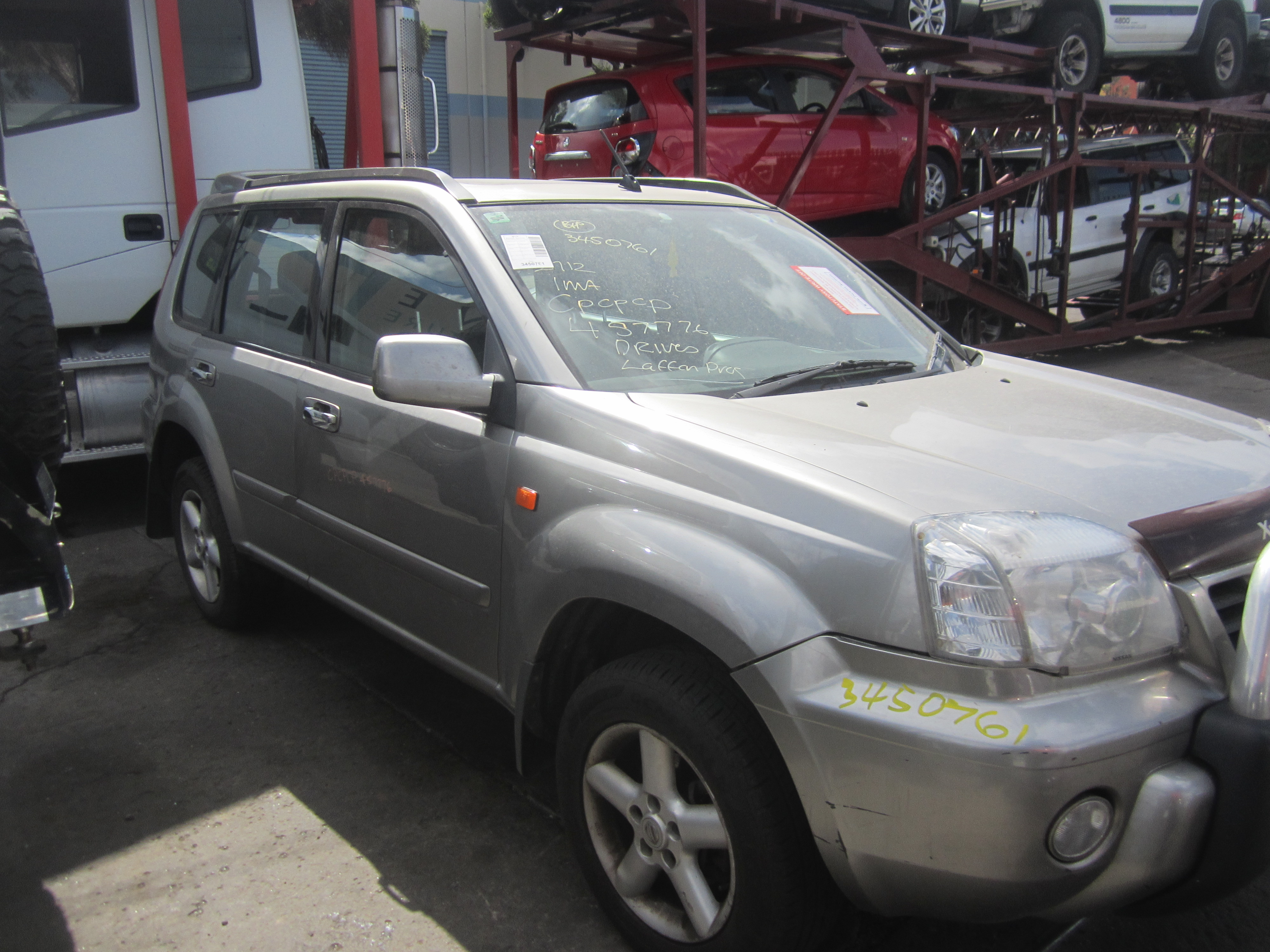 Parts For Cars >> NISSAN X-TRAIL T30 Ti PETROL AUTO 4X4 2002 WRECKING