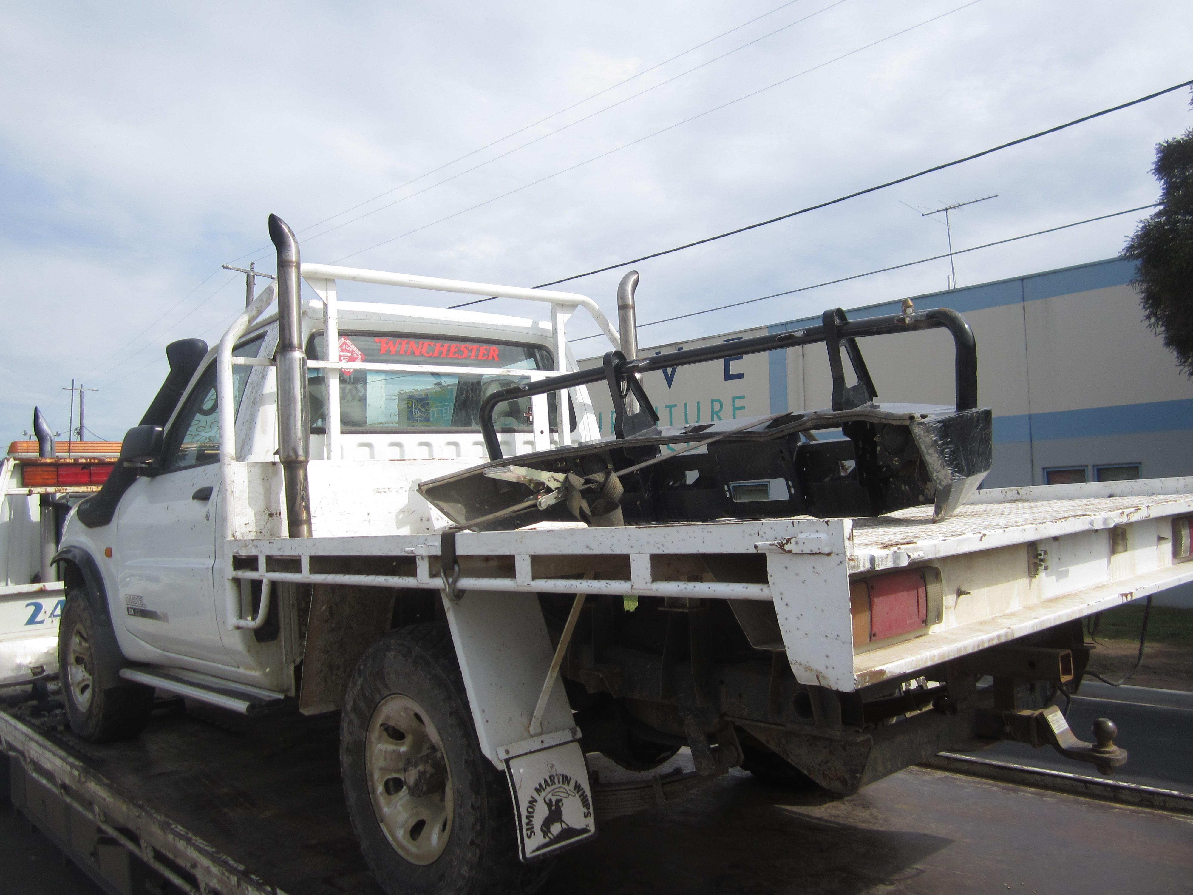 nissan patrol y61 ute td42 turbo diesel 1999 wrecking. Black Bedroom Furniture Sets. Home Design Ideas
