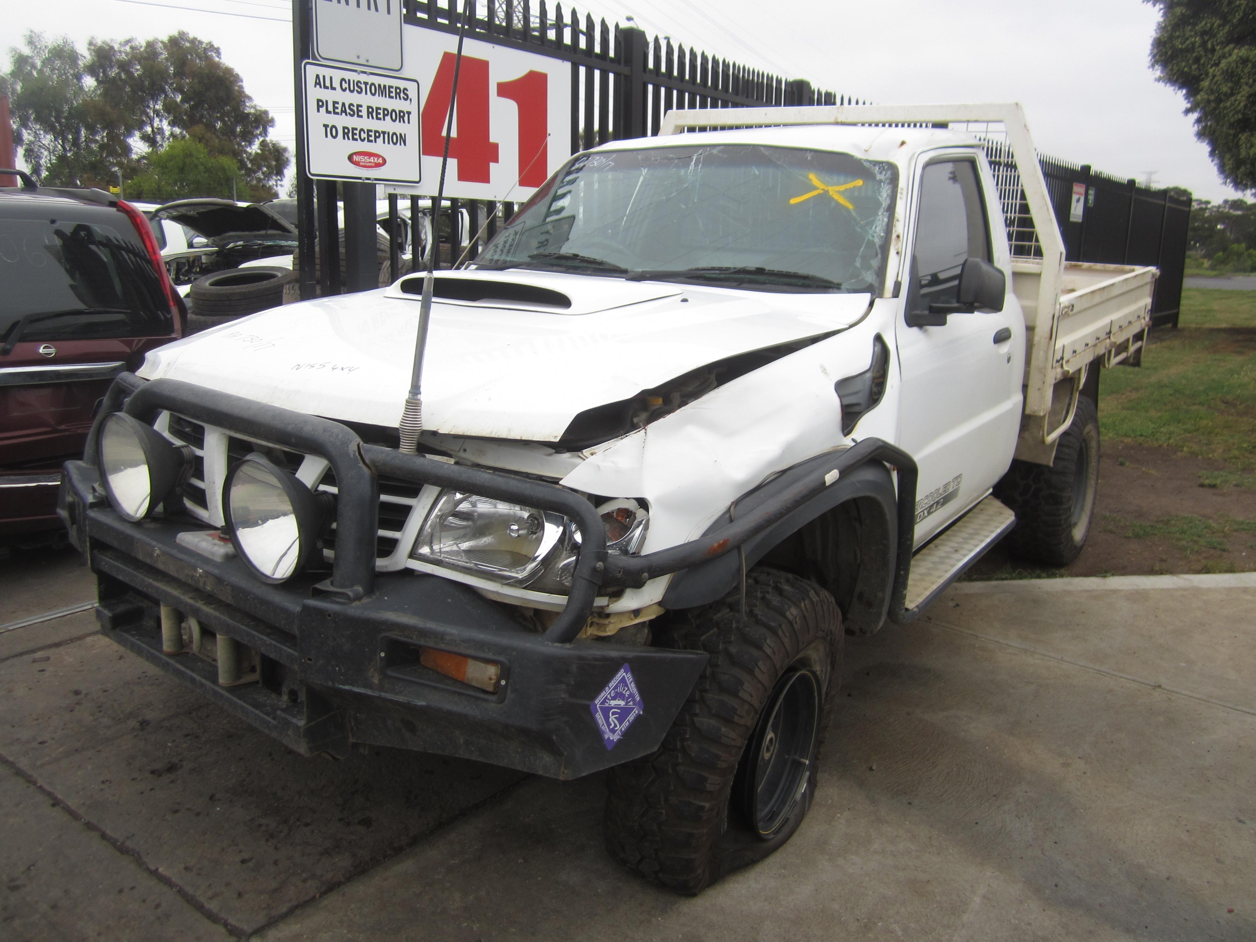 nissan patrol y61 gu ute td42 turbo diesel 2006 wrecking. Black Bedroom Furniture Sets. Home Design Ideas