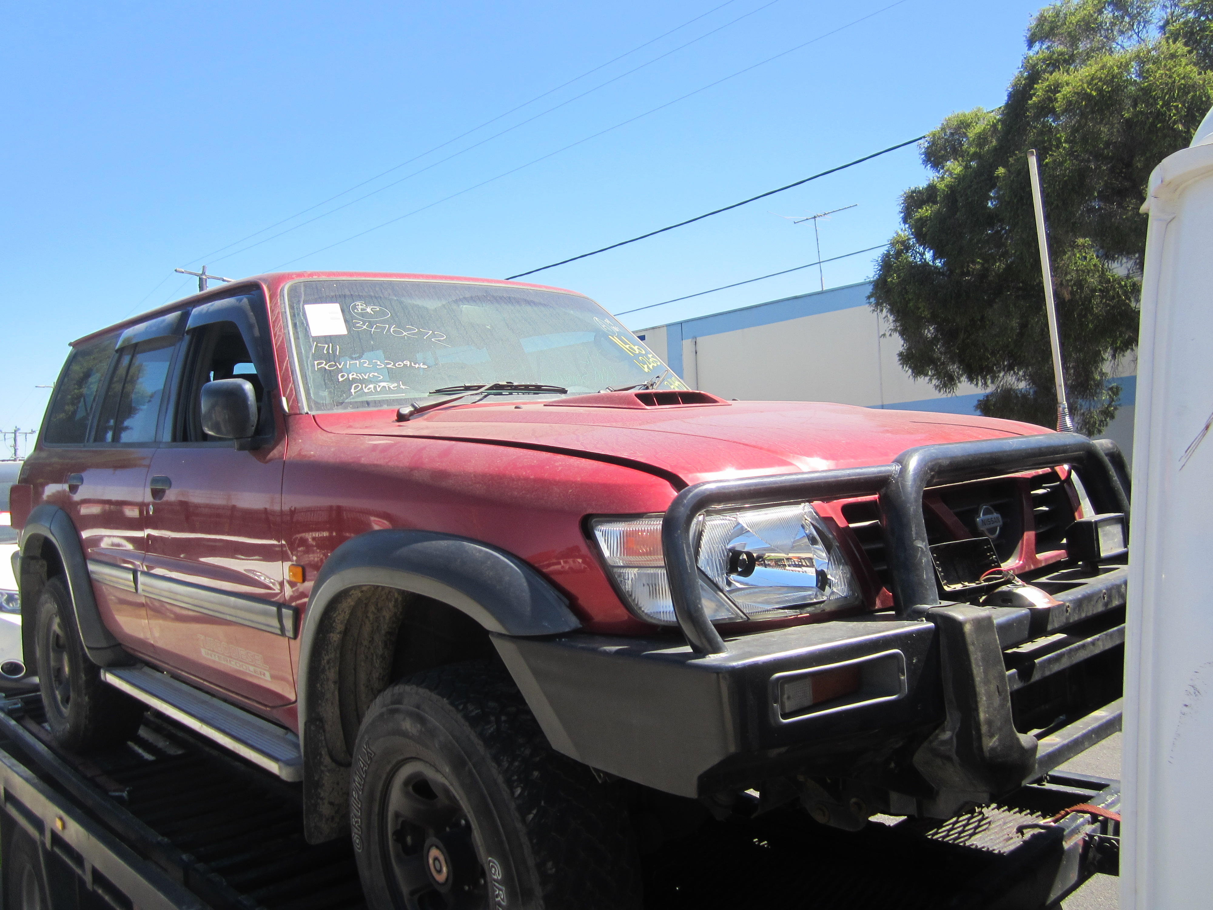 nissan patrol y61 gu st wagon rd28 turbo diesel 1999 wrecking. Black Bedroom Furniture Sets. Home Design Ideas