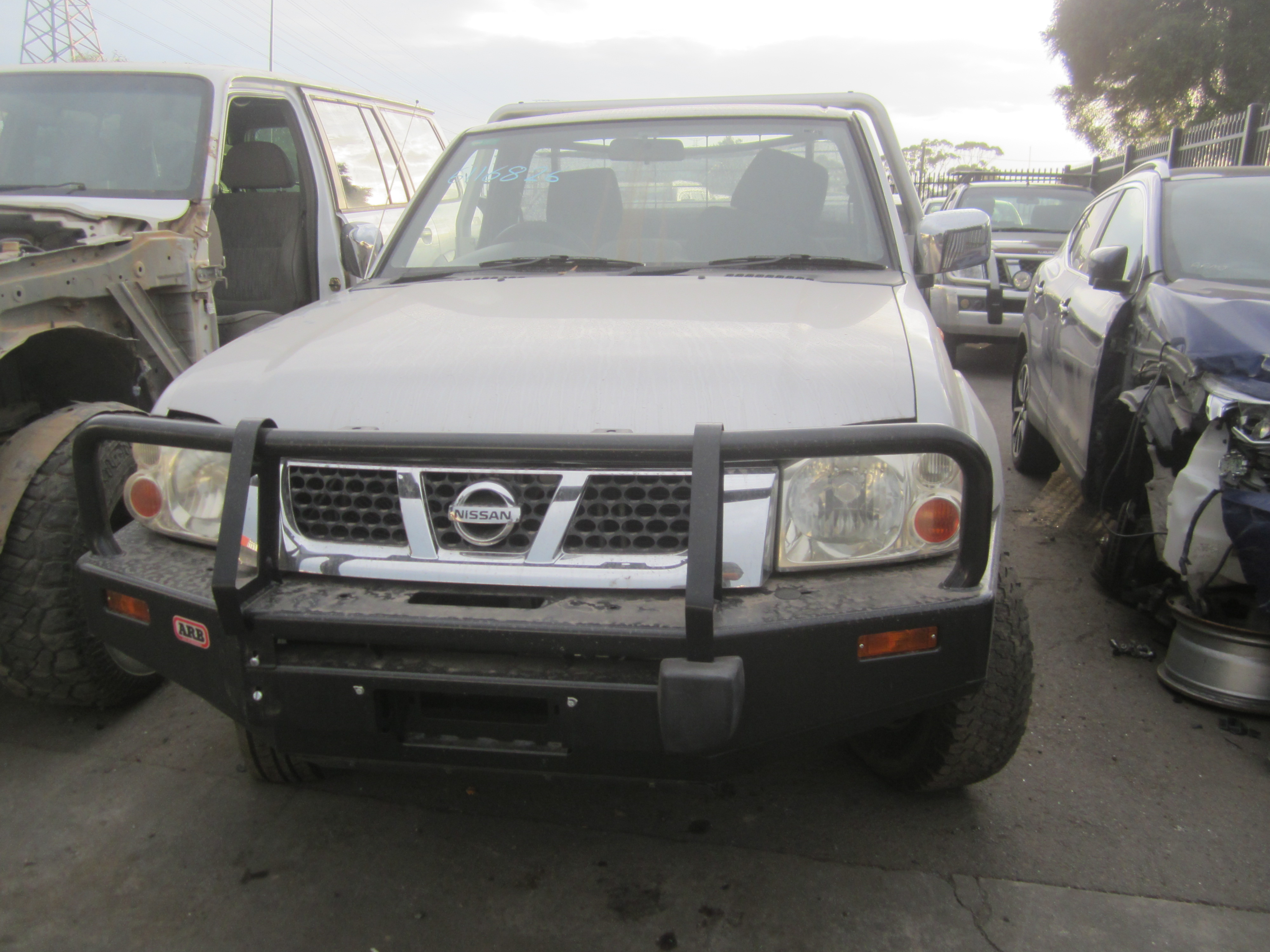 nissan navara d22 single cab ute zd30 diesel 2006 wrecking. Black Bedroom Furniture Sets. Home Design Ideas