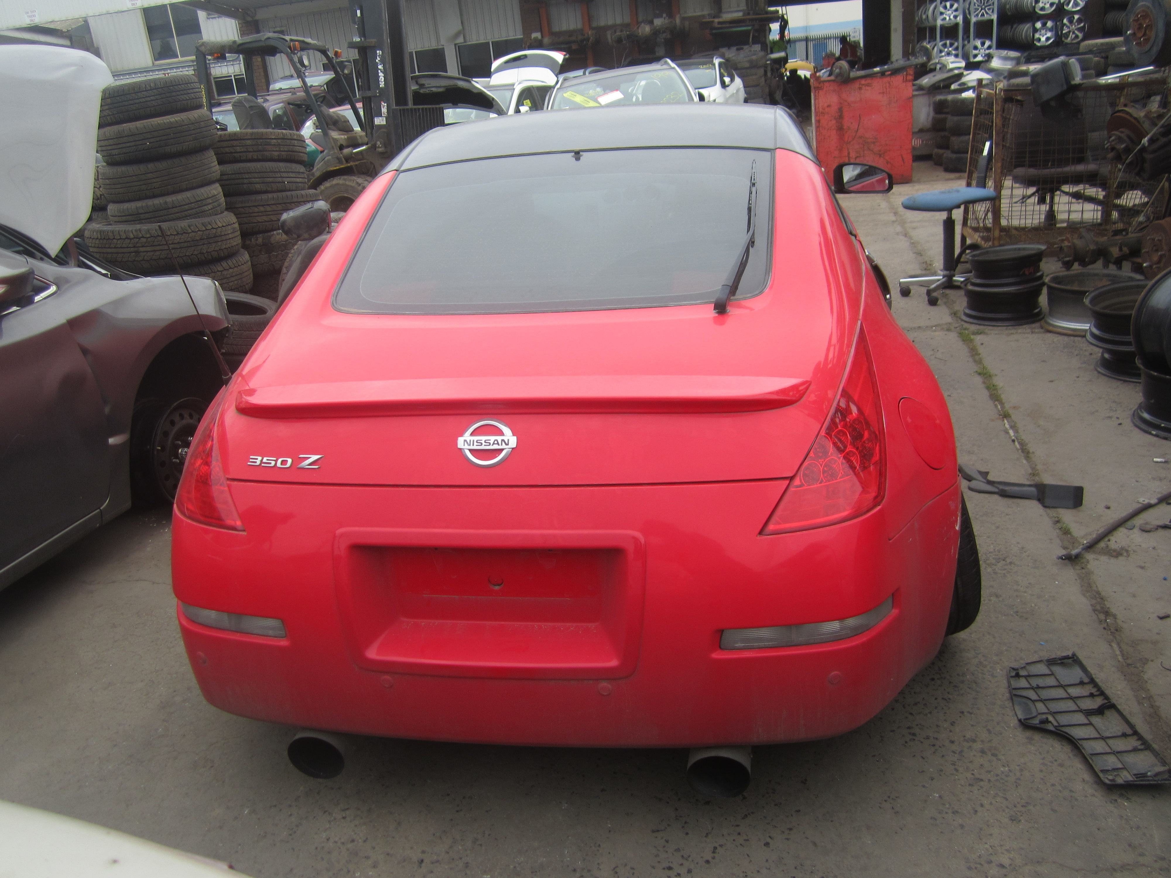 Nissan 350z Parts 305 Wreckers Across Australia 2003 Engine Schematics Z33 Coupe Vq35 V6 Manual Red 2008 Wrecking