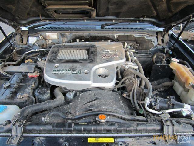 Nissan Patrol Gu 2006 Zd30 Ti Wrecking All Parts